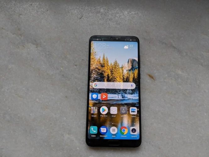 Huawei P20 Pro Hide Display Notch