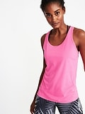 Semi-Fitted Racerback Performance Tank for Women  ON