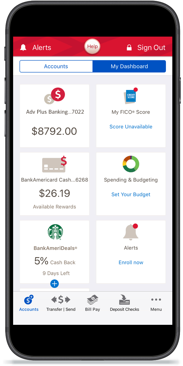 Mobile And Online Banking Benefits Features From Bank Of America