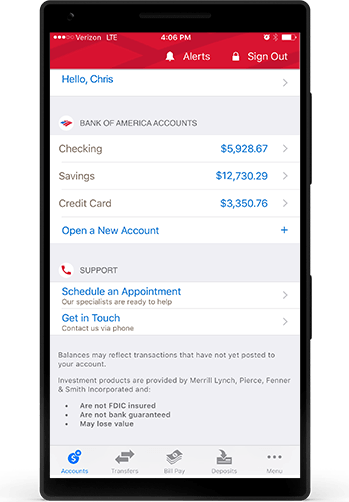 Mobile Banking For Students At Bank Of America