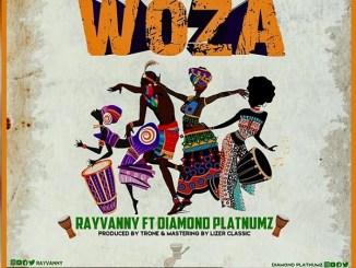 Rayvanny - Woza ft. Diamond Platnumz Mp3 Download