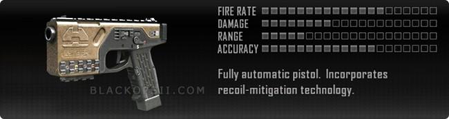 Call Of Duty Black Ops 2 II Weapons List Pistols