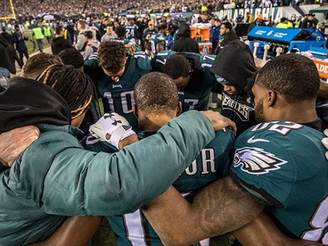 Eagles Praying