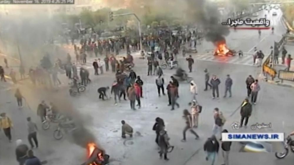 Iranian Uprising Gas Price Protests Turn Deadly As