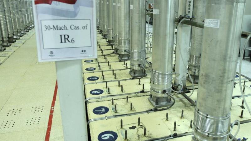 Natanz uranium enrichment facility in central Iran. (Atomic Energy Organization of Iran via AP, File)