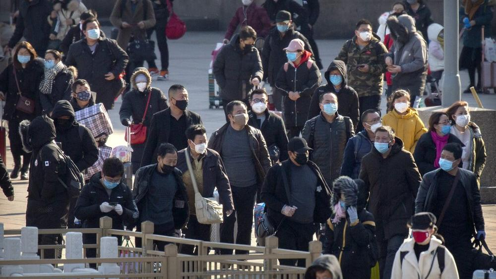 China Sees Big Drop In New Virus Cases France Reports