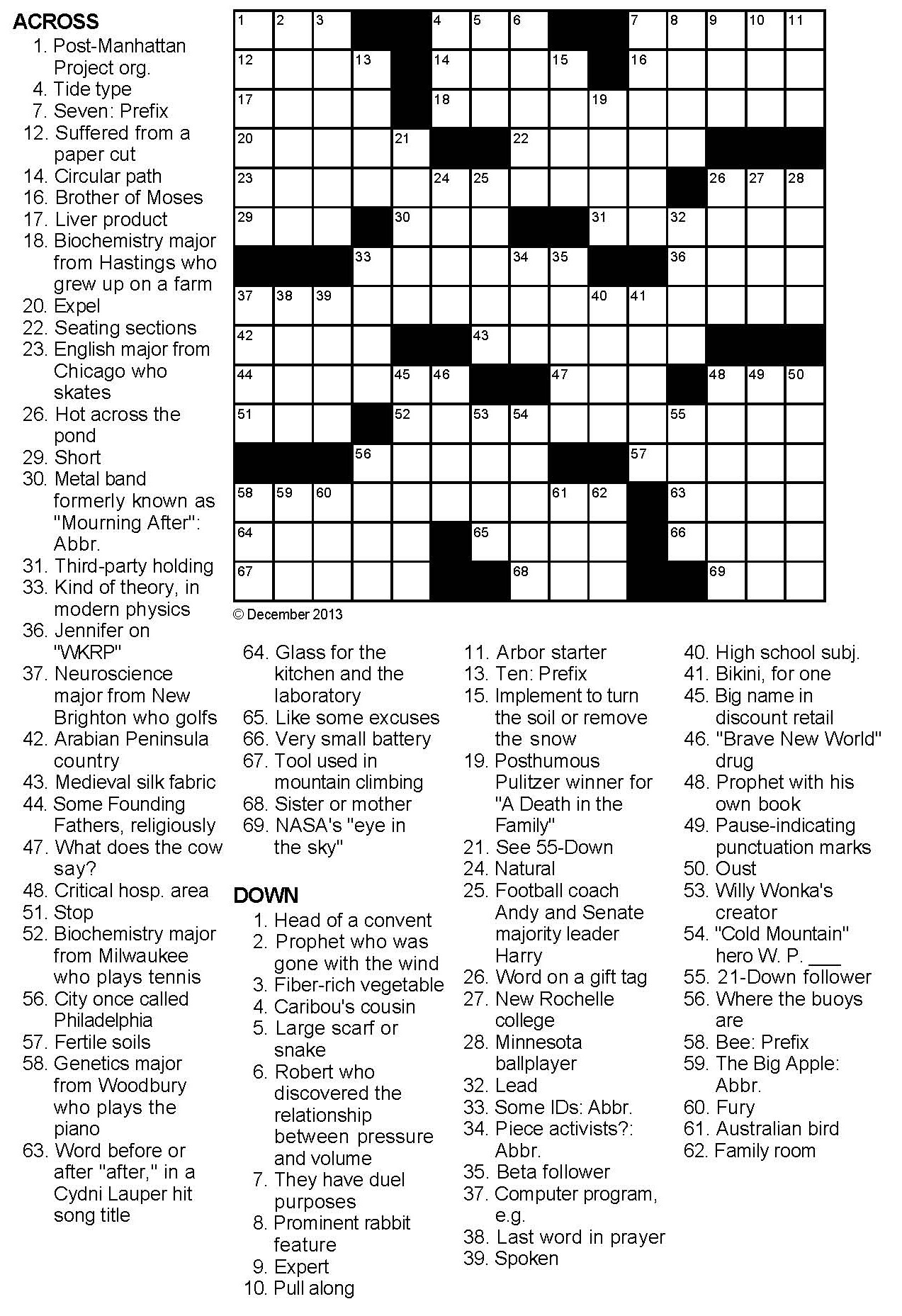 best 25 printable crossword puzzles fun crossword free