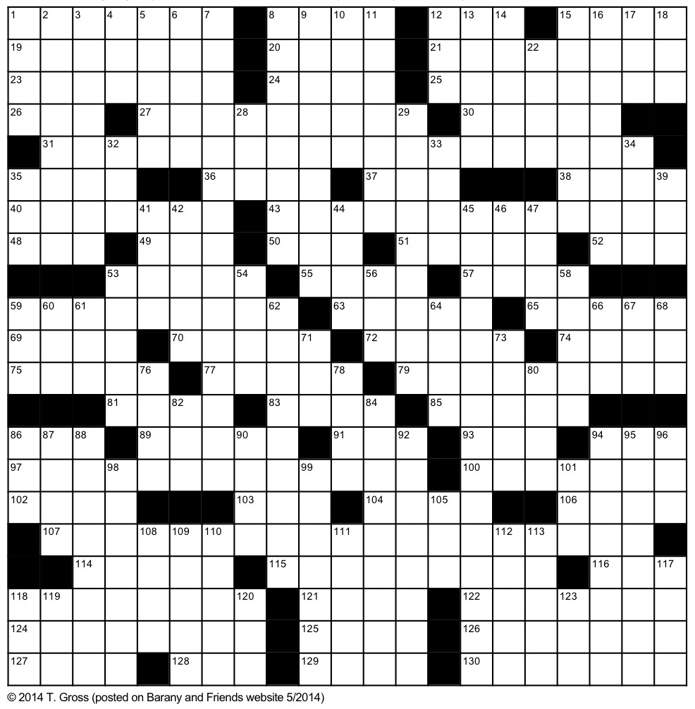 Plastic Surgery Crossword Puzzle
