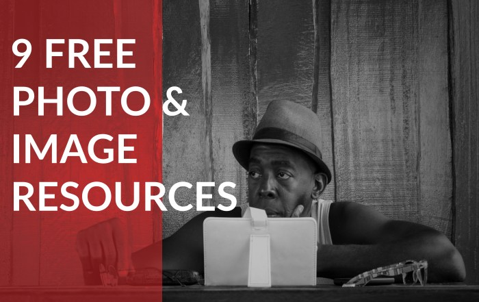 9 Free Photo and Image Resources for Your Website