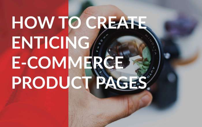 tips on creating effective product listing pages
