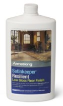 Armstrong Satinkeeper Resilient Low Gloss Floor Finish (32
