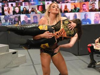 WWE RAW: Nikki Cross Def. Charlotte Flair By Count-Out