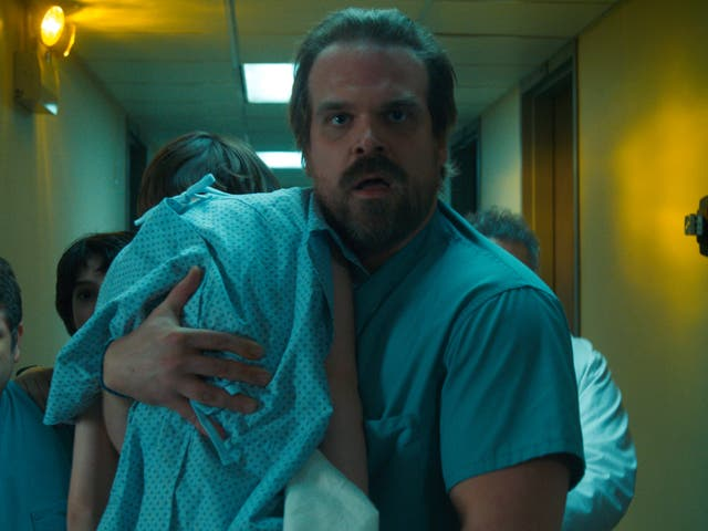 David Harbour Purposefully Leaked Photos From The Black Widow Set In Order To Prevent Stranger Things Crossover Theories
