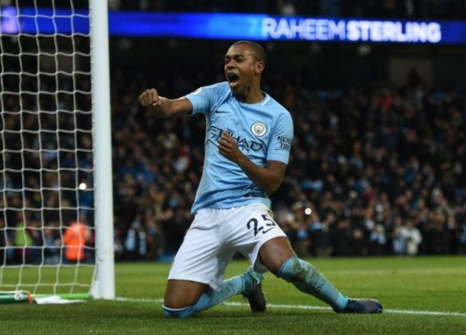 Man City Star Fernandinho Signs Contract Extension (See Details)