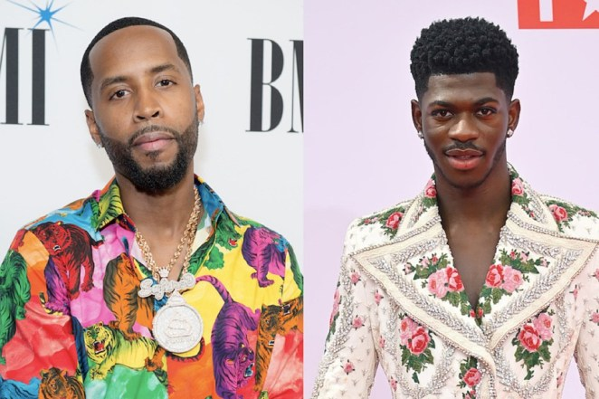 """Lil Nas X raised a lot of eyebrows when he announced he was releasing a Satan-themed Nike Air Max 97 sneaker in collaboration with Brooklyn, N.Y.-based art collective MSCHF.  The shoe, which also appeared in the rapper's controversial """"Montero (Call Me By Your Name)"""" video, also featured a drop of blood, which shocked a lot of critics. Pro skater Tony Hawk has since unveiled—and sold outa skateboard with elements that liken Nas X's shoe and the rapper is speaking out about it.   On Wednesday (Aug. 25), the Grammy Award-winner rapper jumped on his Twitter account to wag his finger at critics who were offended by his Satan sneakers, which included a drop of blood in them.  """"Now that tony hawk has released skateboards with his blood painted on them, and there was no public outrage, are y'all ready to admit y'all were never actually upset over the blood in the shoes? and maybe u were mad for some other reason?"""" he wrote in his tweet.  Yes, there is actually @tonyhawk's real blood in these skateboards. And yes, we sterilized it first. Own your very own piece of the Birdman today. But act fast! There are only 100 of them. https://t.co/UlxFy0HLB1 pic.twitter.com/TFDtvMPt7G  — Liquid Death Mountain Water (@LiquidDeath) August 24, 2021  Nike caught wind of Nas X's kicks and sued the designer MSCHF for trademark infringement. Eventually, the sneaker giant settled the lawsuit with the designer for an undisclosed amount.  Now comes word that skateboard legend Tony Hawk is releasing a skateboard deck painted using his actual blood. This news prompted Lil Nas X to comment about his controversial Satan sneaker.  While Lil Nas X may have a point, rapper-turned-reality star Safaree had a different take on why so many people were upset with his shoe.  Safaree slid in the comment section of a post shared by gossip Instagram page The Neighborhood Talk and explained to the """"Old Town Road"""" rapper that it wasn't the blood that had people riled up, it was the satanic themes that were being"""
