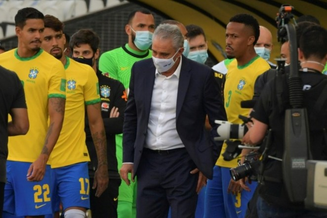 """Brazil Coach Tite Said """"Not Everything Is Allowed"""" In Football In Reference To Sunday's World Cup Qualifier Aborted Minutes"""