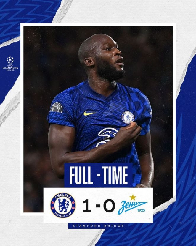 """Chelsea FC Have Moved To A """"New Level"""" This Season After They Sealed A 1-0 Victory Over Zenit Saint-Petersburg"""