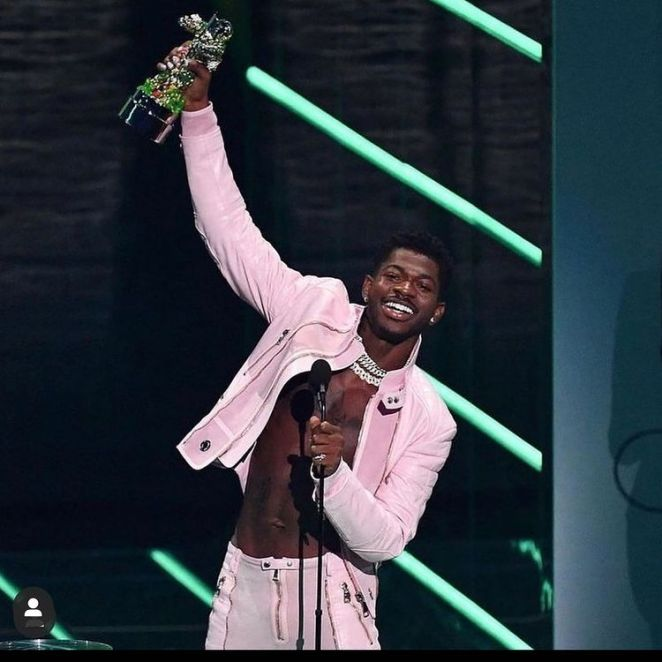 Lil Nas X Has Secured The Precious MTV Video Of The Year Award At Last Night's VMAS Ceremony