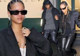 Rihanna And Her Boyfriend A$AP Rocky Continued Their Fashion Parade On Friday Afternoon In New York City