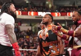 WWE Raw: Universal Champion Roman Reigns & Smackdown Tag Team Champions The Usos Def. The New Day
