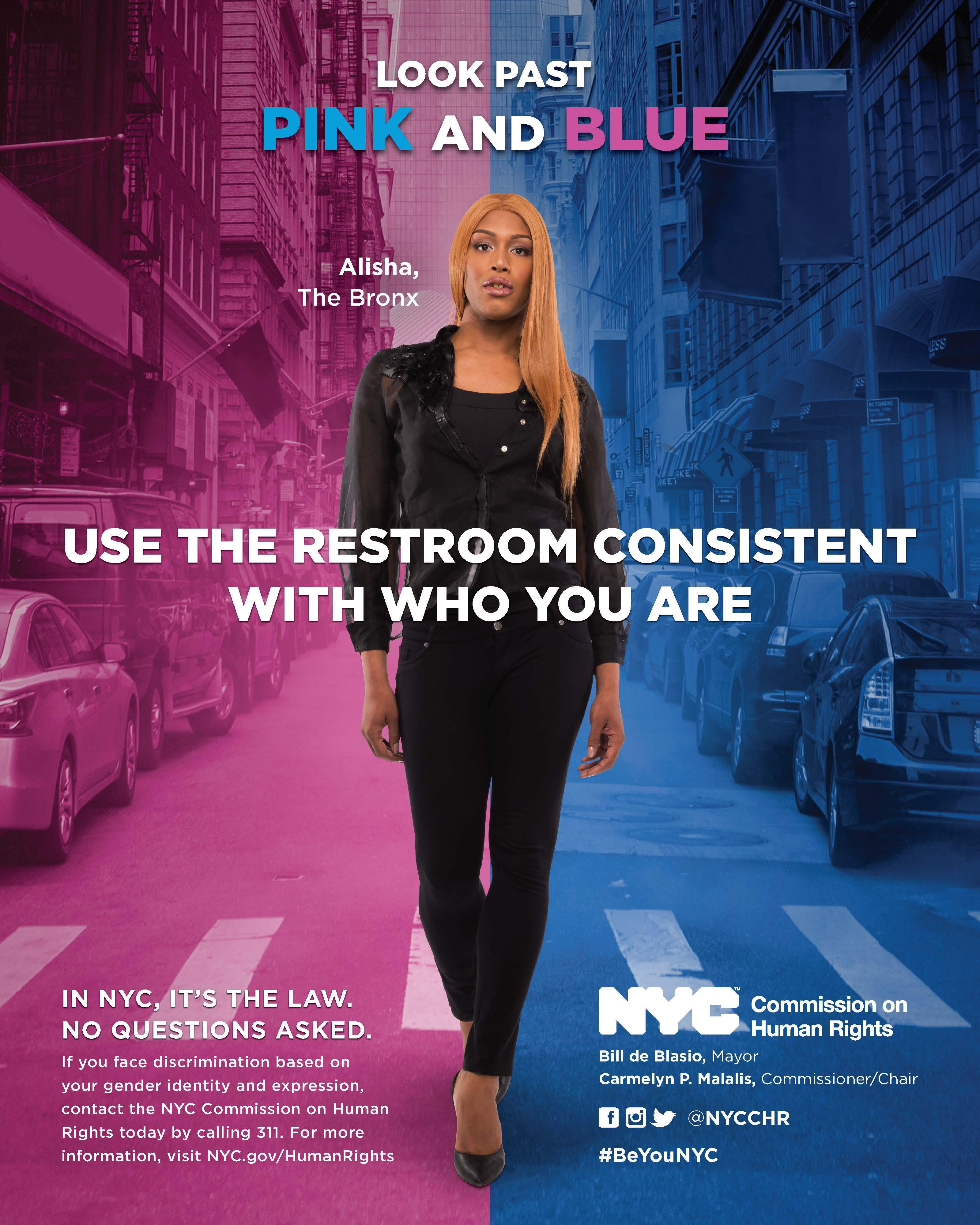 Bathroom Rights  Transgender and Gender nonconforming Discrimination  NYC Human Rights