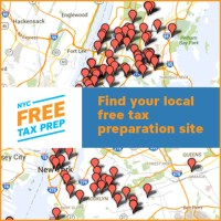Click for map to find your local free tax prep site