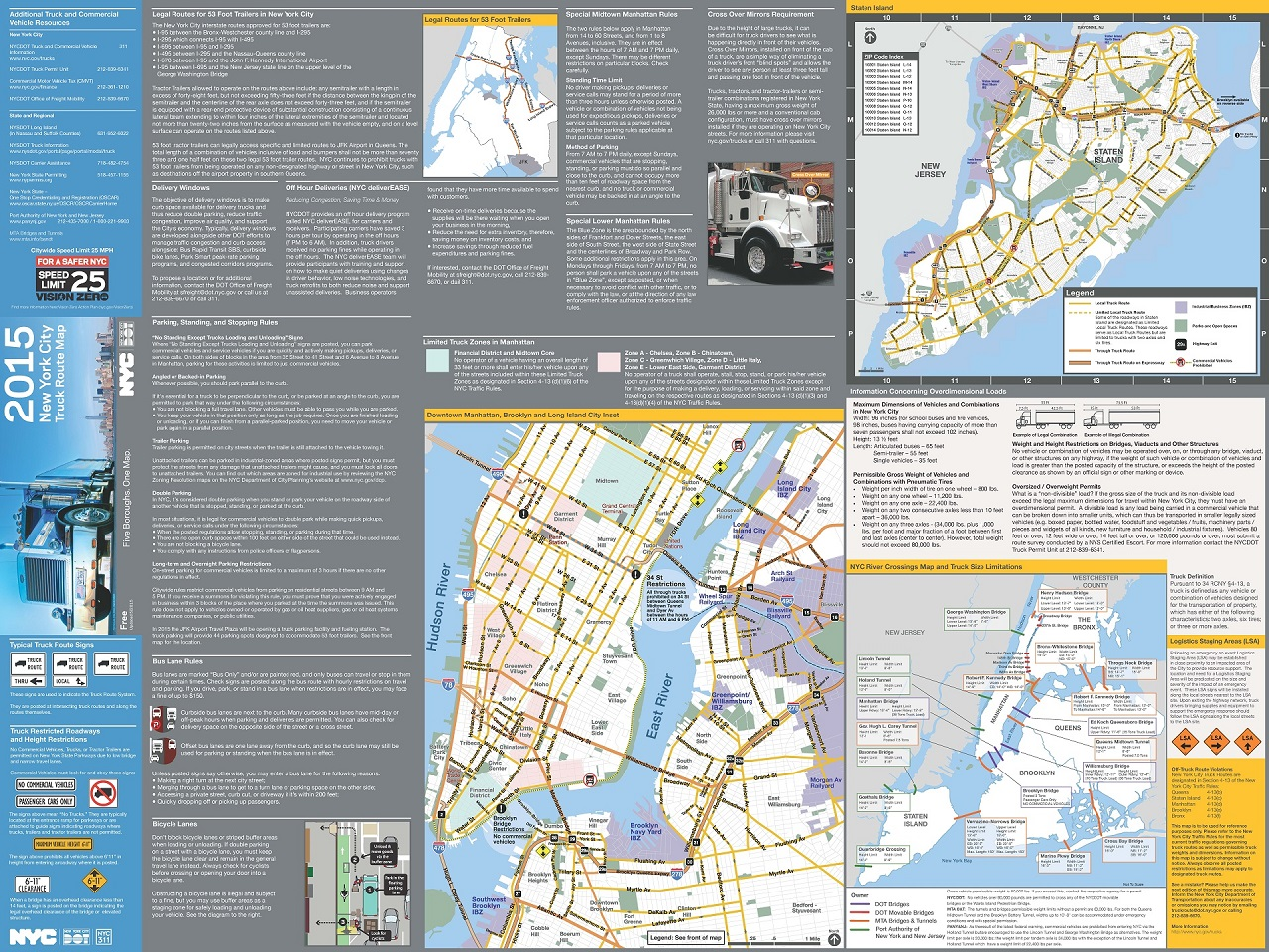 hight resolution of truck map back