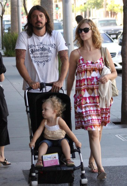 Foo Fighters frontman Dave Grohl and his wife Jordyn Blum take their