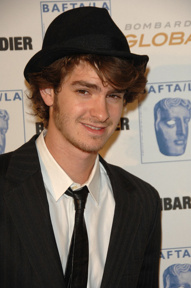 Actor Andrew Garfield attends the 17th Annual British Academy of Film & Television Arts/Los Angeles Britannia Awards at the Hyatt Regency Century Plaza on November 6, 2008 in Los Angeles, California.