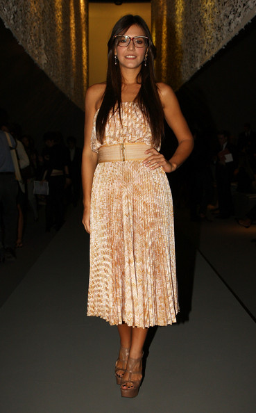 Margherita Missoni attends the Missoni fashion show at Milan Fashion Week Spring/Summer 2009 on September 22, 2008 in Milan, Italy.