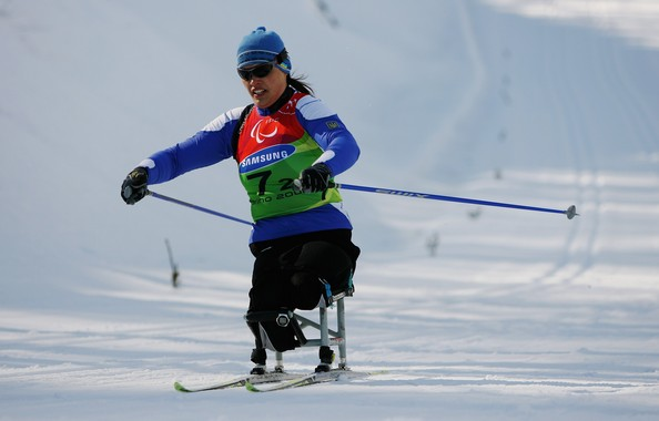 Olena Iurkovska - Paralympic Winter Games - Day Seven