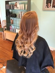 strawberry blonde ombre - 20