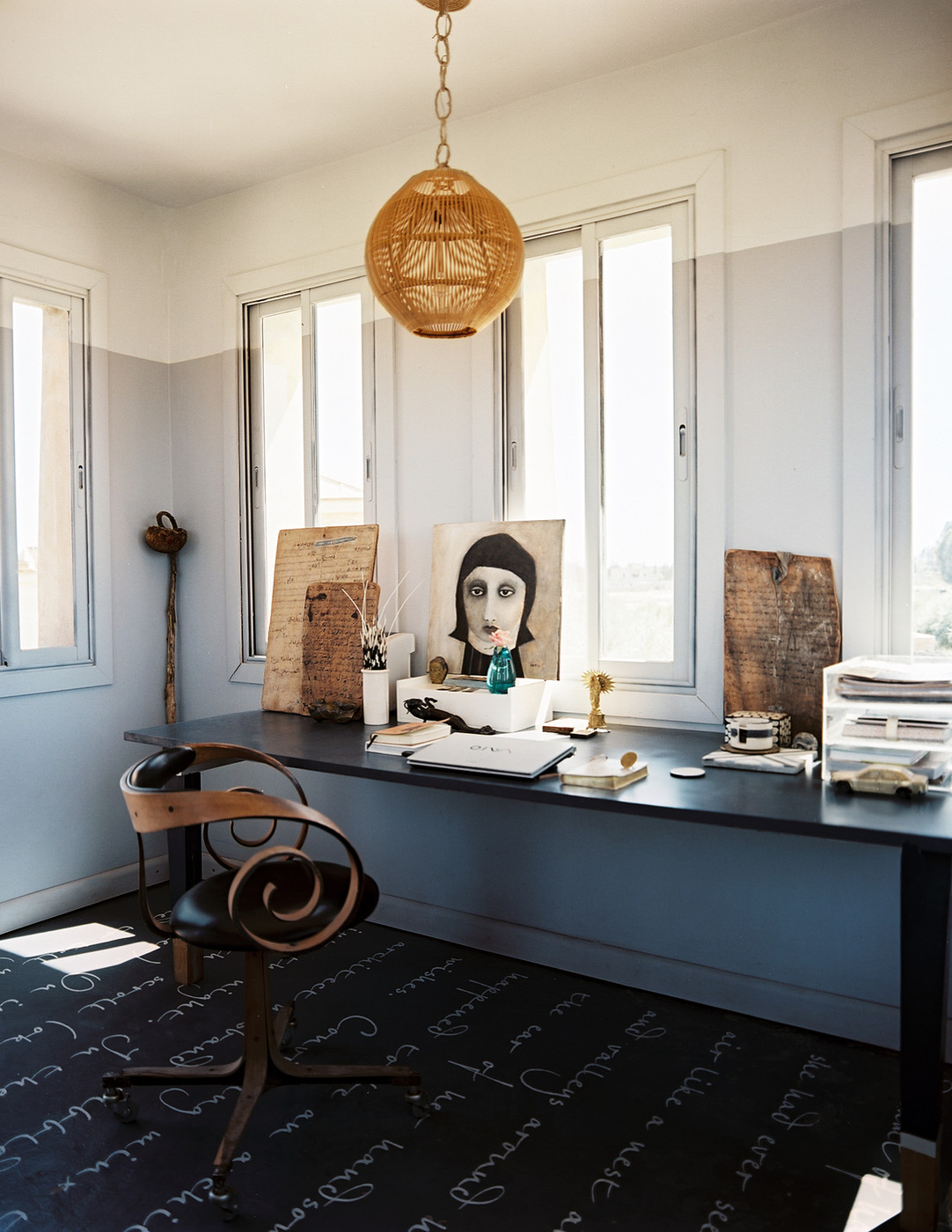 Eclectic Office Space