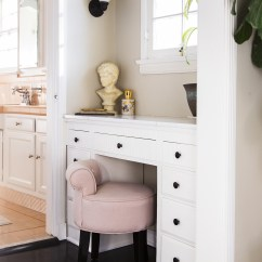 Pink Vanity Chair Office Furniture Conference Table And Chairs Stool Photos Design Ideas Remodel Decor Lonny
