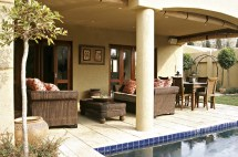 Contemporary Mediterranean Patio - Outdoor Design