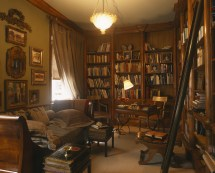 Home Library Study Room