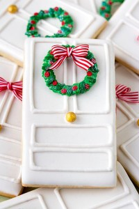 Christmas Door Cookies