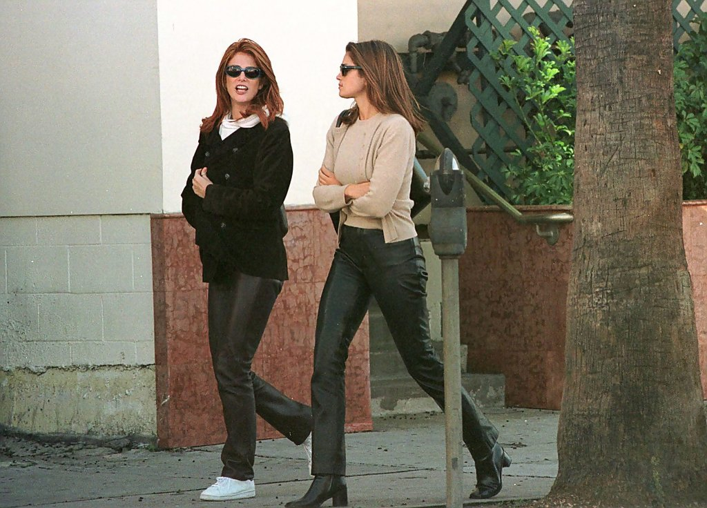 Angie Everheart Cindy Crawford 2000  20 Street Style Shots from the Early 2000s  StyleBistro