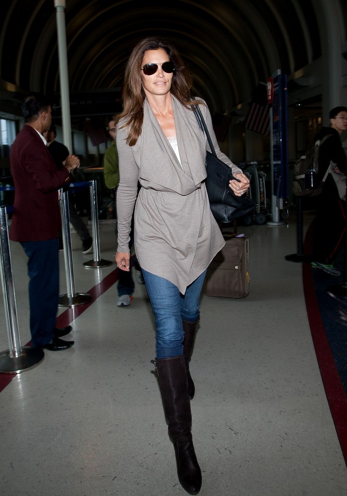 Cindy Crawford Knee High Boots  Cindy Crawford Boots Looks  StyleBistro