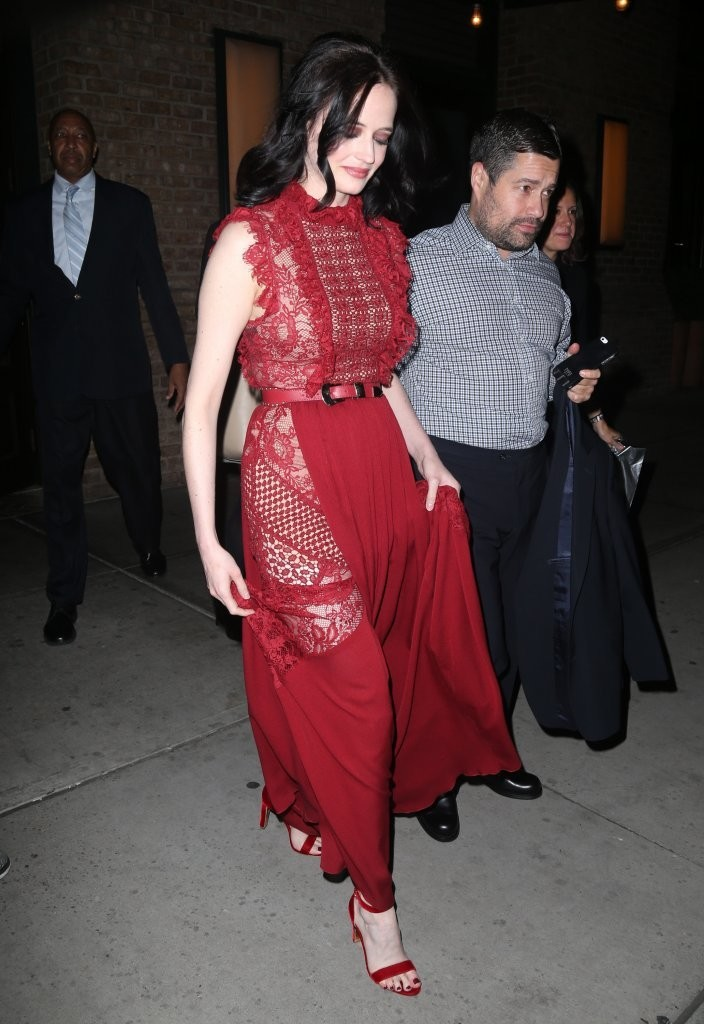 Eva Green Evening Dress  Evening Dress Lookbook  StyleBistro