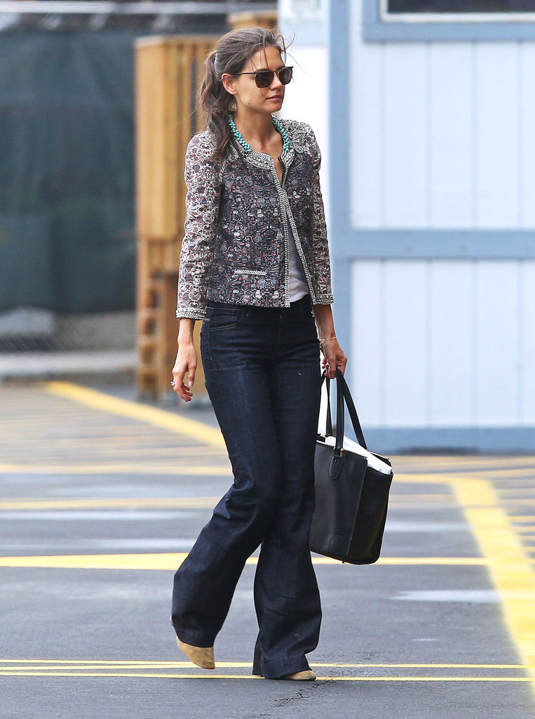 Trading Up  Katie Holmes Fashion Retrospective  The Tom