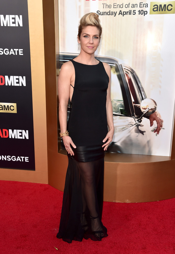 Rhea Seehorn  See What the Stars Wore to Say Farewell to Mad Men  StyleBistro
