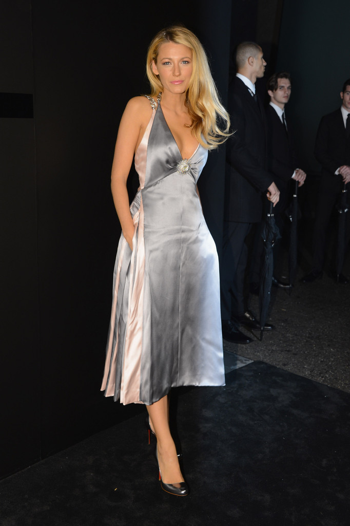 Blake Lively Cocktail Dress Blake Lively Looks StyleBistro
