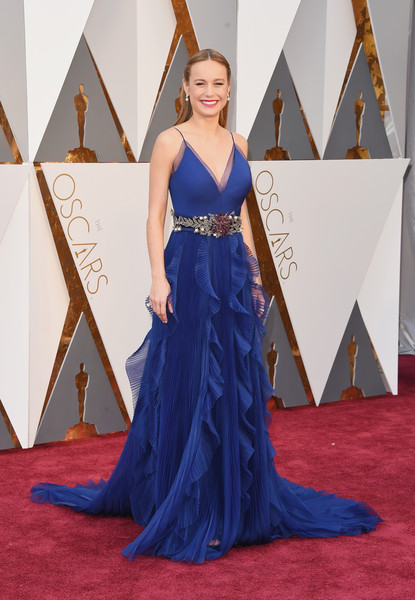 Brie Larson Evening Dress
