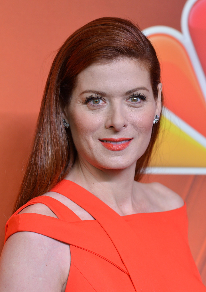 Debra Messing Long Side Part  Long Hairstyles Lookbook  StyleBistro
