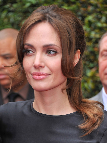 Angelina Jolie The Most Beautiful Brows In The Business