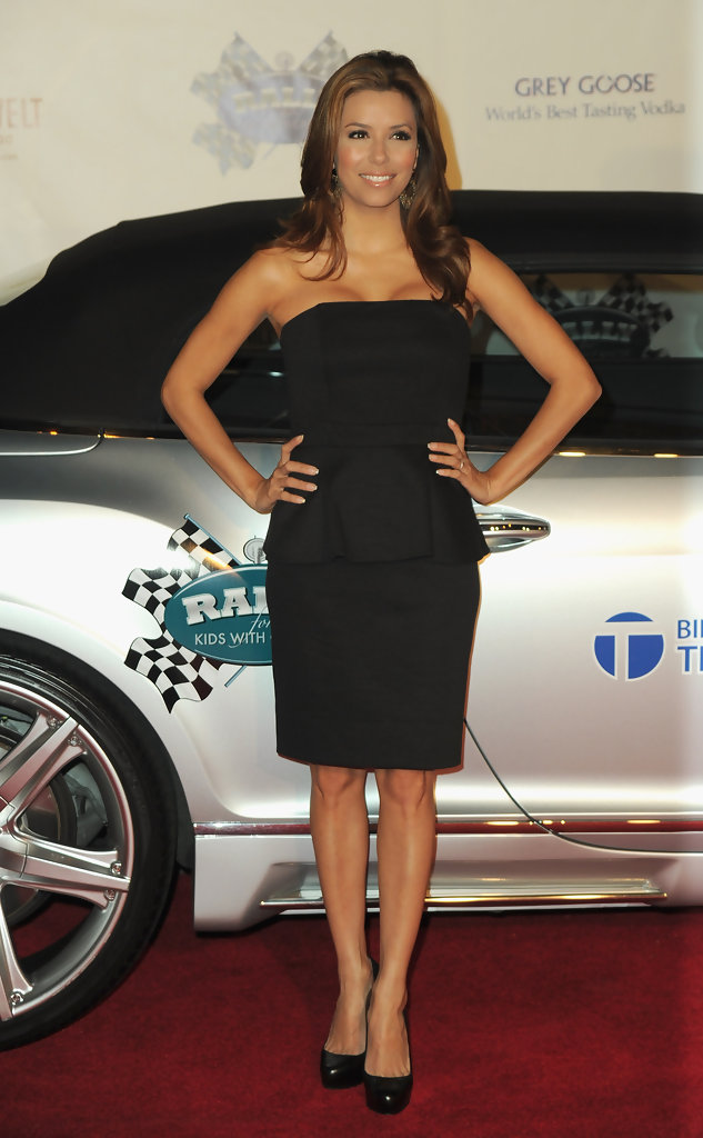 Eva Longoria Little Black Dress  Eva Longoria Looks