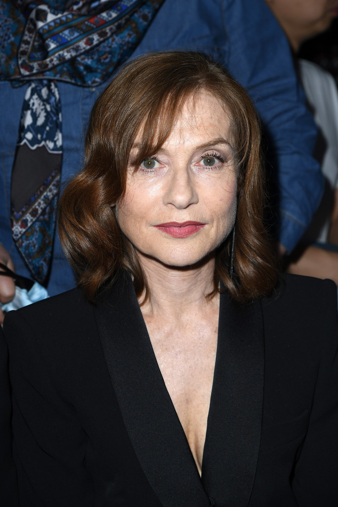 Isabelle Huppert Medium Curls with Bangs  Shoulder Length Hairstyles Lookbook  StyleBistro