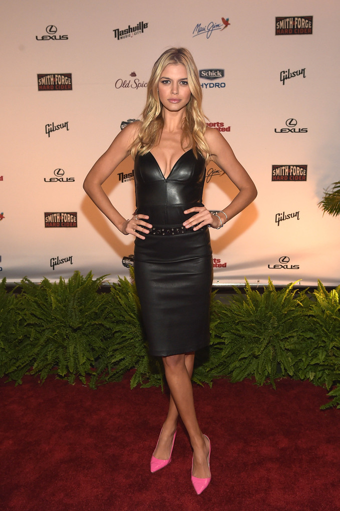 Kelly Rohrbach Leather Dress  Leather Dress Lookbook  StyleBistro
