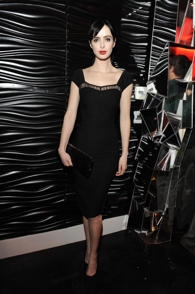 Krysten Ritter Little Black Dress  Krysten Ritter Looks  StyleBistro